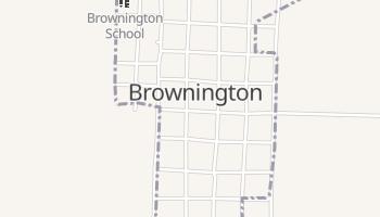 Brownington, Missouri map