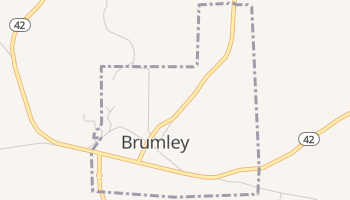 Brumley, Missouri map