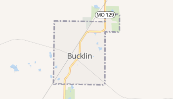 Bucklin, Missouri map