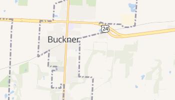 Buckner, Missouri map