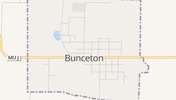Bunceton, Missouri map