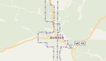 Bunker, Missouri map