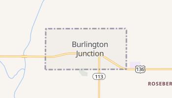 Burlington Junction, Missouri map