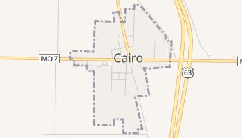 Cairo, Missouri map