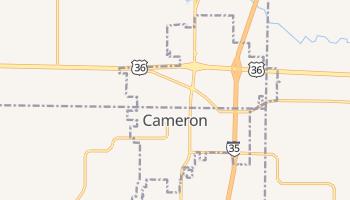 Cameron, Missouri map