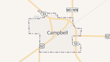 Campbell, Missouri map