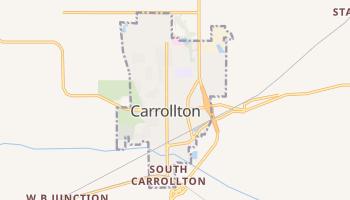 Carrollton, Missouri map