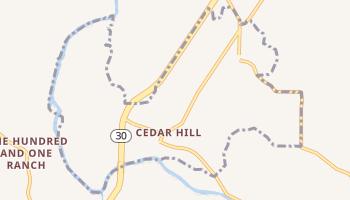 Cedar Hill, Missouri map
