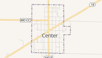 Center, Missouri map