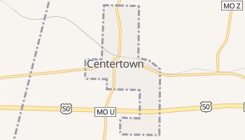 Centertown, Missouri map