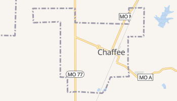 Chaffee, Missouri map