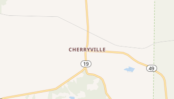 Cherryville, Missouri map