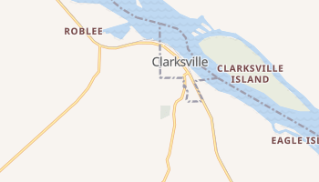 Clarksville, Missouri map