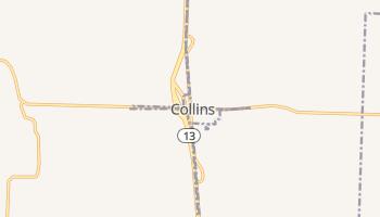 Collins, Missouri map