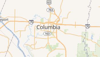 Columbia, Missouri map