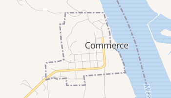Commerce, Missouri map
