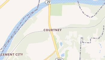 Courtney, Missouri map