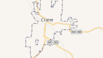 Crane, Missouri map