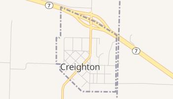 Creighton, Missouri map