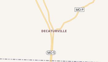 Decaturville, Missouri map