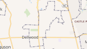 Dellwood, Missouri map