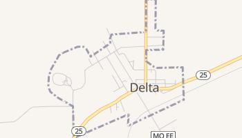 Delta, Missouri map