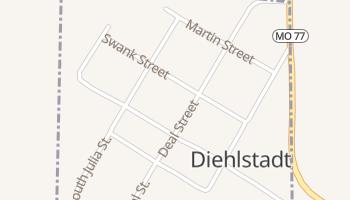 Diehlstadt, Missouri map