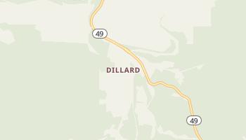 Dillard, Missouri map