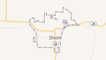 Dixon, Missouri map