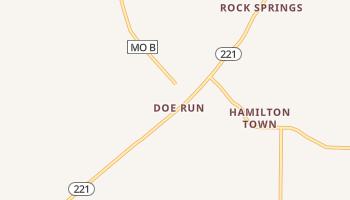 Doe Run, Missouri map