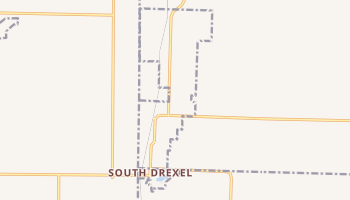 Drexel, Missouri map