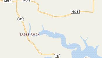 Eagle Rock, Missouri map