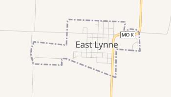 East Lynne, Missouri map