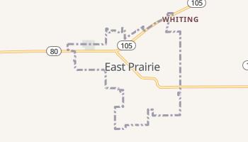 East Prairie, Missouri map