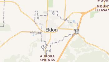 Eldon, Missouri map