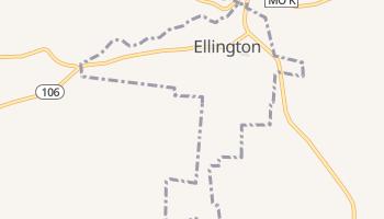 Ellington, Missouri map
