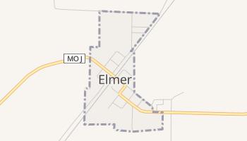 Elmer, Missouri map