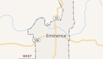 Eminence, Missouri map