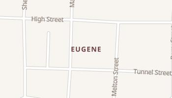 Eugene, Missouri map