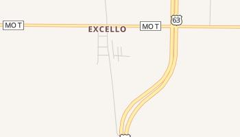 Excello, Missouri map