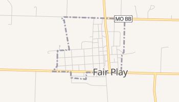 Fair Play, Missouri map