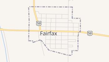 Fairfax, Missouri map