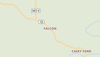 Falcon, Missouri map