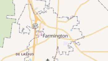 Farmington, Missouri map
