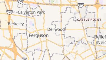 Ferguson, Missouri map