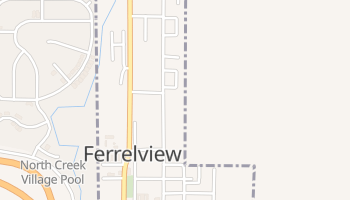 Ferrelview, Missouri map