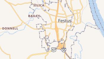 Festus, Missouri map