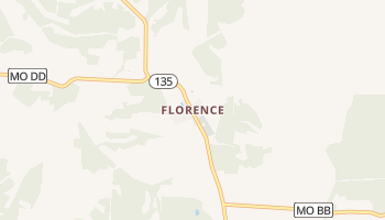 Florence, Missouri map