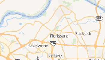 Florissant, Missouri map