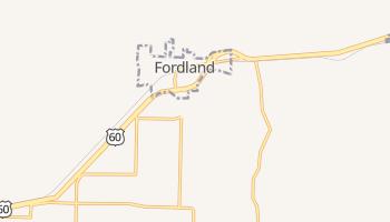 Fordland, Missouri map